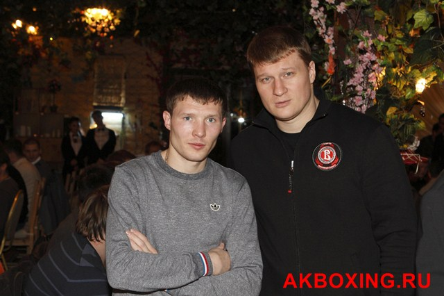 Интервью чемпионов мира, Александра Поветкина и Александа Бахтина (видео) (1)