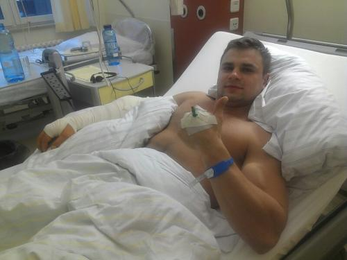 Денис Бойцов попал в больницу и был успешно прооперирован (1)