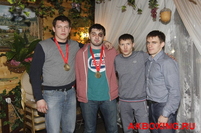Чествование чемпионов в Балашихе! (3)