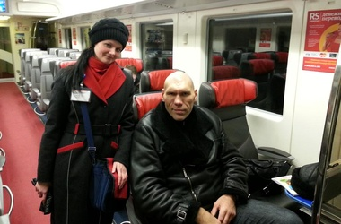 Николай Валуев проехался в метро и маршрутке (1)