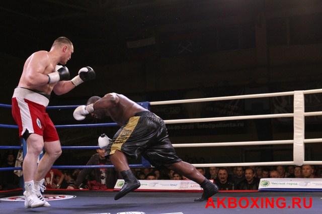 Итоги боксерского вечера в Подольске: Денис Бахтов - Дэнни Уильямс! (10)