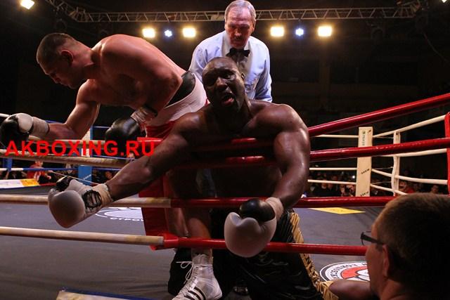 Денис Бахтов в тяжелейшем бою победил Дэнни Уильямса! (9)