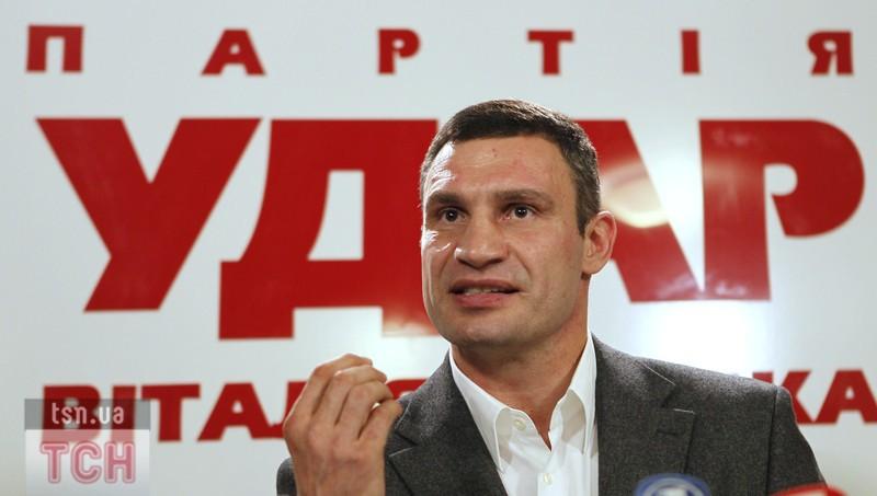 Виталий Кличко, Михаил Саакашвили и возможная смена власти (1)