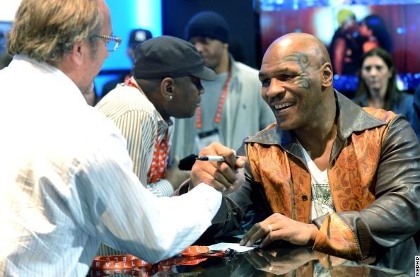 50 Cent, Майк Тайсон и Флойд Мэйвезер старший (2)