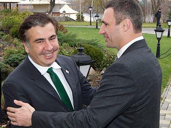 Виталий Кличко, Михаил Саакашвили и возможная смена власти (2)