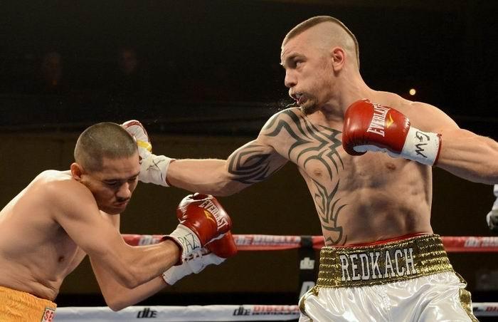 Иван Редкач в первом раунде нокаутировал Серхио Риверу (1)