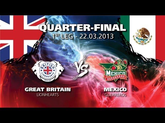 WSB: Сборная Великобритании – Сборная Мексики (видео) (1)