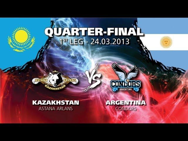 WSB:Сборная Казахстана - Сборная Аргентины (видео) (1)
