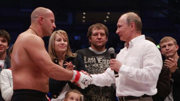 Владимир Путин откроет Дворец боевых искусств (1)