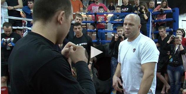 Федор Емельяненко учил правильно боксировать и бороться (видео) (1)
