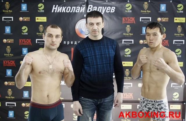 Денис Бахтов взвесился и будет выживать в ринге ТАФФАЙТ! (9)