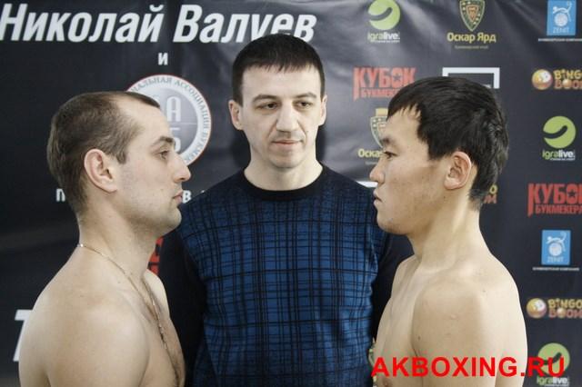 Денис Бахтов взвесился и будет выживать в ринге ТАФФАЙТ! (10)