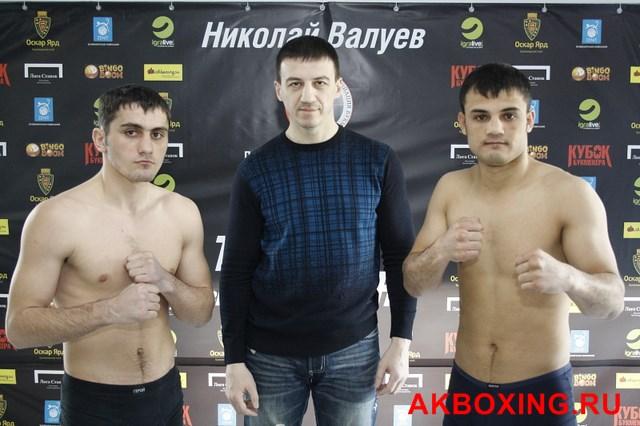 Денис Бахтов взвесился и будет выживать в ринге ТАФФАЙТ! (7)