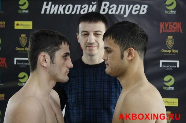 Денис Бахтов взвесился и будет выживать в ринге ТАФФАЙТ! (8)