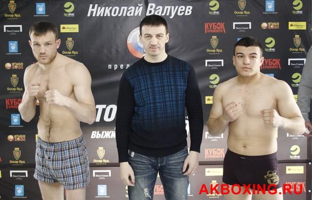 Денис Бахтов взвесился и будет выживать в ринге ТАФФАЙТ! (5)