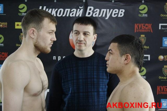 Денис Бахтов взвесился и будет выживать в ринге ТАФФАЙТ! (6)