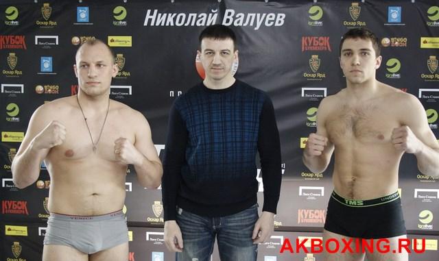 Денис Бахтов взвесился и будет выживать в ринге ТАФФАЙТ! (3)