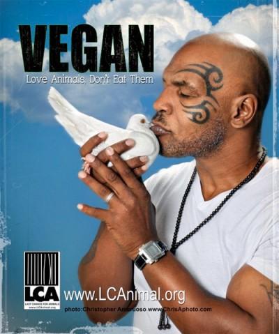 Майк Тайсон стал вегетерианцем и похудел на 45 кг (1)