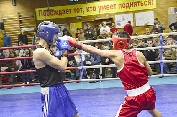 В Москве состоялся студенческий турнир по боксу (1)