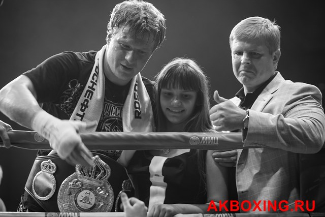 Андрей Рябинский: Мы хотим, чтобы бой Поветкин - Кличко посетили 30 тысяч человек (1)