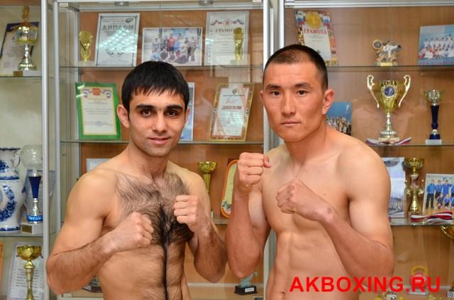 Большой бокс: Взвешивание в Климовске! (6)