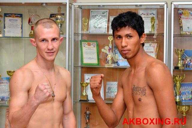 Большой бокс: Взвешивание в Климовске! (3)