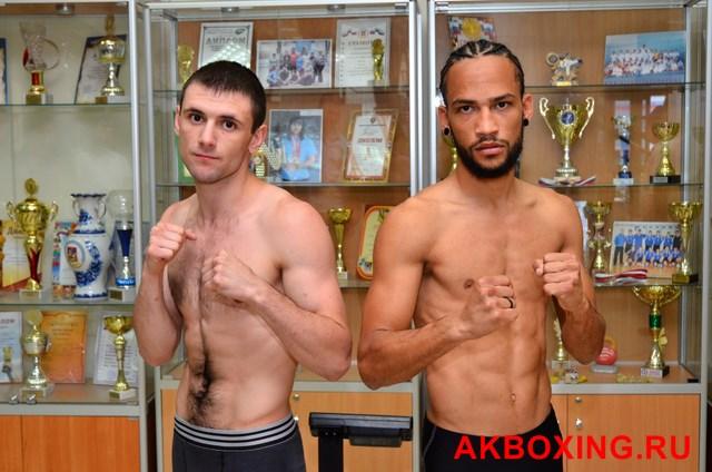 Большой бокс: Взвешивание в Климовске! (4)