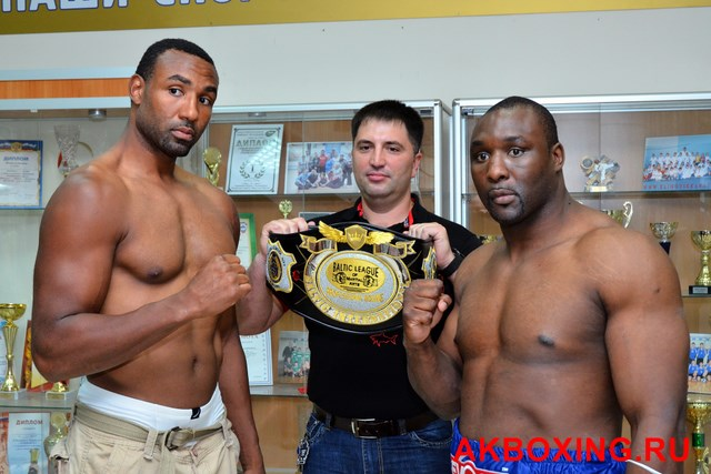 Большой бокс: Взвешивание в Климовске! (2)