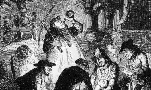 Боксер, Франкенштейн и расхитители могил (1)