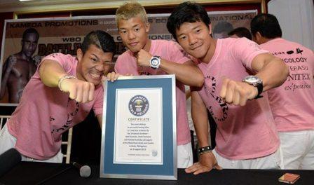 Братья Камеда оказались в Книге рекордов Гинесса (1)