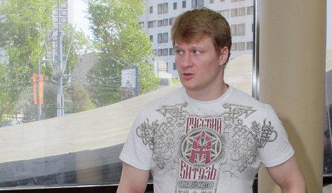Александр Зимин: Поветкин как всегда спокоен (1)