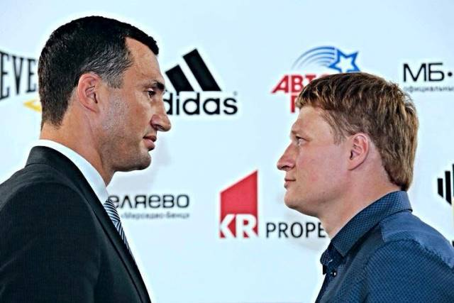 Владимир Кличко - Александр Поветкин. Кто победит?  (2)