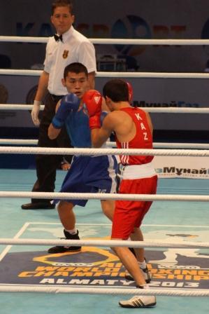 Чемпионат Мира - 2013 в Казахстане: Бэлик Галанов уступил Биржану Жакыпову (видео) (1)