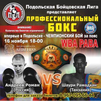 Подольск в ожидании настоящего профессионального бокса! (2)