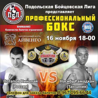 Подольск в ожидании настоящего профессионального бокса! (3)