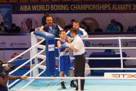 Чемпионат Мира – 2013 в Казахстане: Бэлик Галанов одерживает уверенную победу (2)