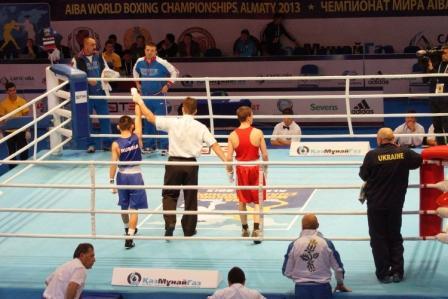Чемпионат Мира – 2013 в Казахстане: Бэлик Галанов одерживает уверенную победу (1)