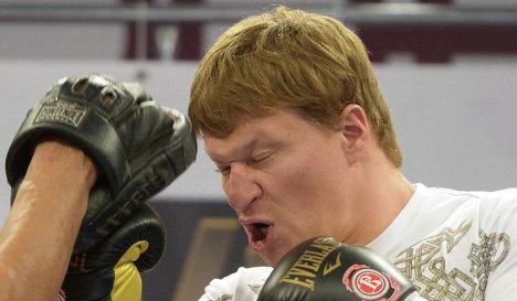 Владимир Кличко – Александр Поветкин. Открытая тренировка (видео) (2)