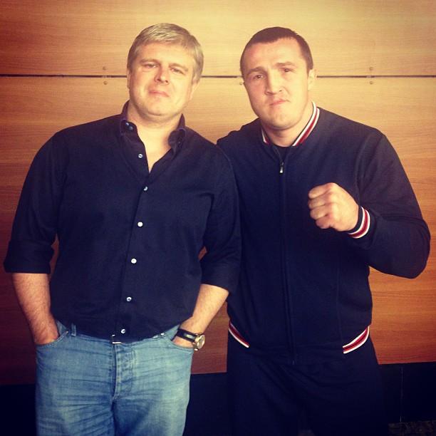 Андрей Рябинский выкупил права на проведение боев Дениса Лебедева (1)