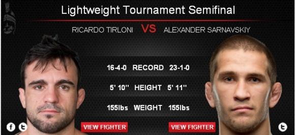 Bellator 105: Александр Сарнавский против Рикардо Тирлони. Прямая трансляция (видео) (1)