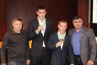 Евгений Тищенко и Владимир Никитин получили премии в размере 500 тысяч рублей (1)