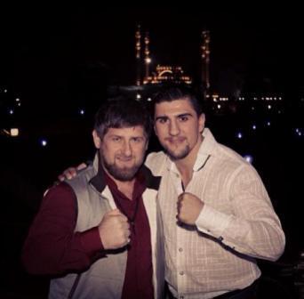 Марко Хук приехал в гости к Рамзану Кадырову в Грозный (1)