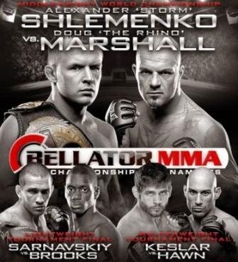 Bellator 109: Шлеменко - Маршалл, Сарнавский - Брукс. Прямая трансляция (видео) (1)