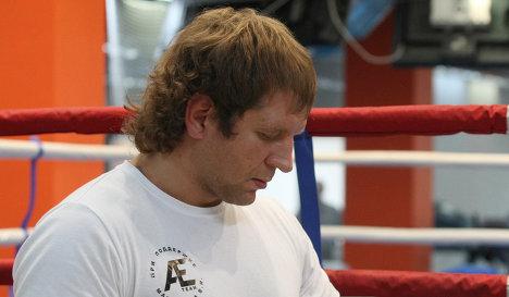 Александр Емельяненко: Я в оптимальной форме. Сегодня побил трех боксеров (1)