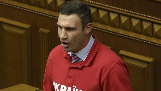 Виталий Кличко заявил, что сделает, когда станет президентом Украины (1)