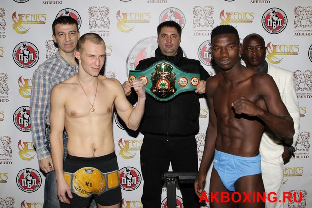 Взвешивание боксеров в Подольске! (2)