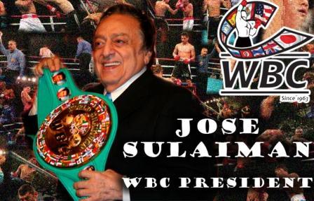 Хосе Сулейман стал пожизненным президентом WBC (1)