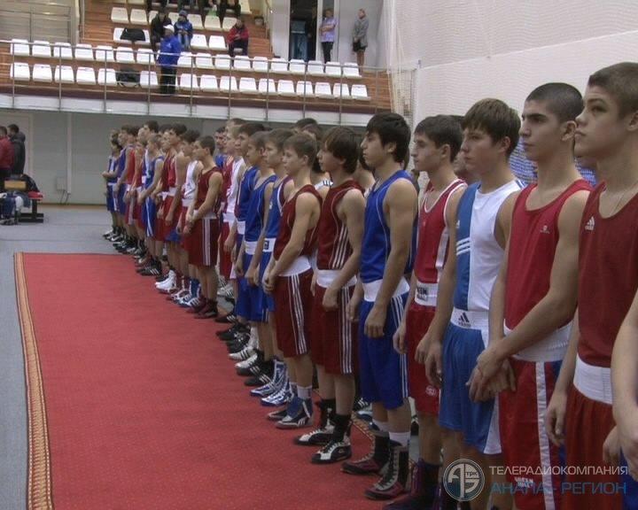 Всероссийские соревнования по боксу среди юношей 14-15 лет в Анапе (1)