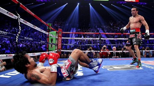Лучшие моменты мирового бокса в замедленном действии! (1)