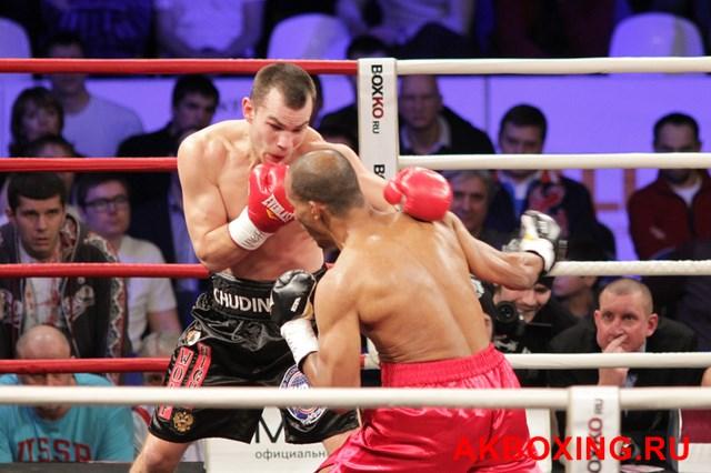 Рой Джонс победил, Дмитрий Чудинов стал временным чемпионом Мира WBA (6)